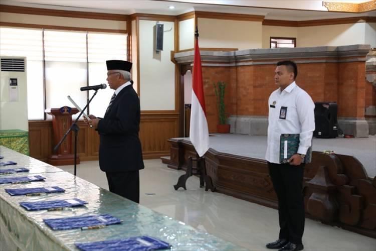 Pelantikan Dan Pengambilan Sumpah Jabatan Notaris Kanwil Bali
